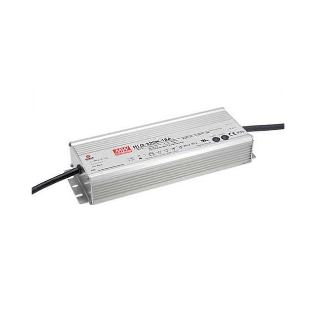 Driver LED HLG-320H-24A MEAN WELL 320W 24V IP65-Lumidat